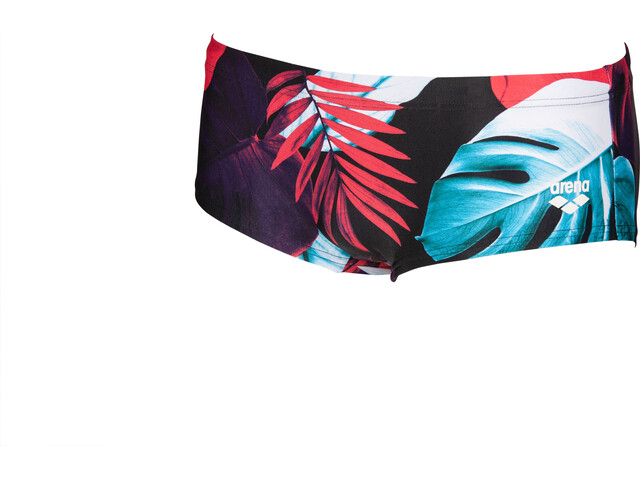 arena Tropical Leaves Short taille basse Homme, black/multi